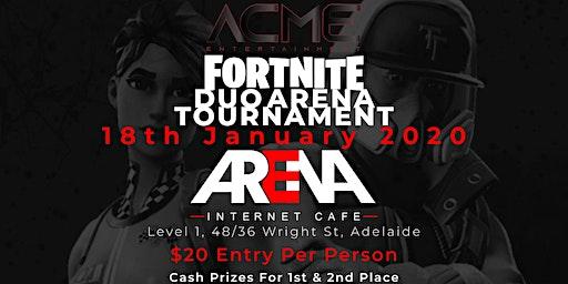 ACME Entertainment Duo Arena Fortnite Tournament.