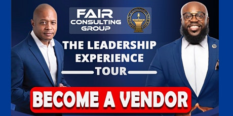 Leadership Experience Tour Vendor Application tickets