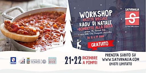RAGU' DI NATALE - ricetta speciale (workshop gratuito)