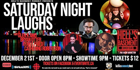 Saturday Night Laughs tickets