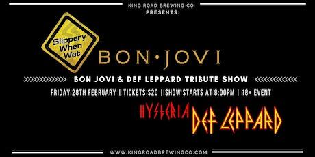 Bon Jovi & Def Leppard Tribute Show @ KRB tickets