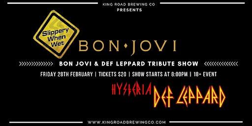 Bon Jovi & Def Leppard Tribute Show @ KRB