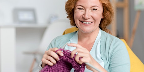 Library Lovers' Day - Uncover something new - Knitting Workshop tickets