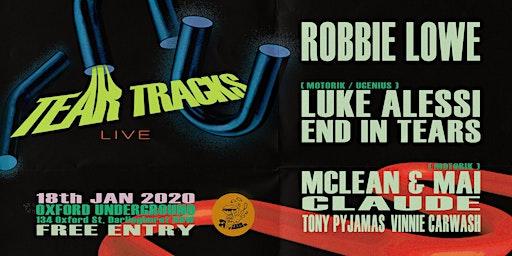 Tear Tracks Live