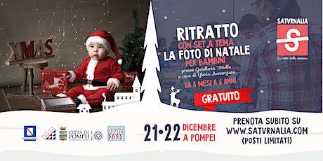 RITRATTO FOTOGRAFICO DI NATALE - BAMBINI (workshop gratuito) tickets