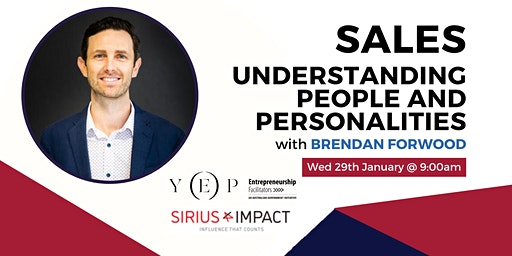 Sales - Understanding people and personality