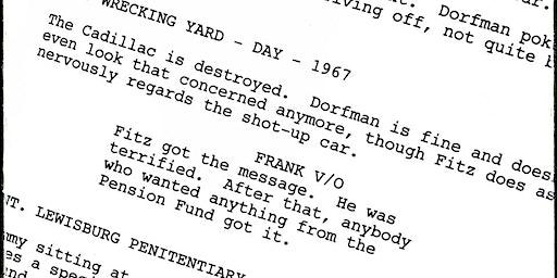 Screenwriting Workshop Ages 18+