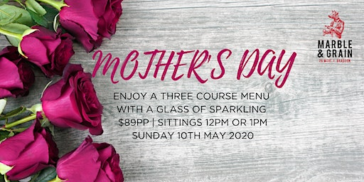 Mother's Day at Marble & Grain