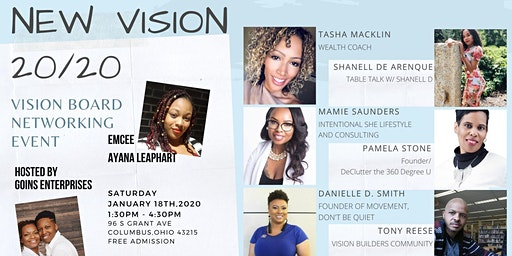 New Vision 20/20 - Vision Board Networking Event