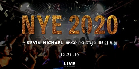 NYE 2020 at LIVE Nightclub tickets