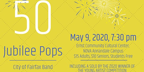 50th Anniversary Jubilee Pops concert tickets
