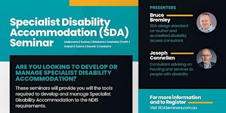 2020 Specialist Disability Accommodation Seminar Darwin  tickets