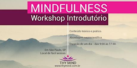 Mindfulness - Workshop Introdutório ingressos