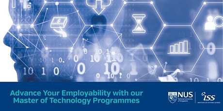 NUS-ISS Master of Technology Information Session tickets