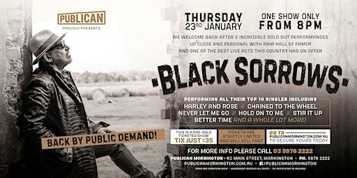 Black Sorrows LIVE at Publican, Mornington!