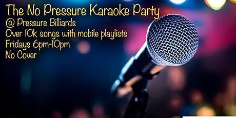 Pressure Karaoke Party tickets