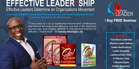 EFFECTIVE LEADER-SHIP (November 9) tickets