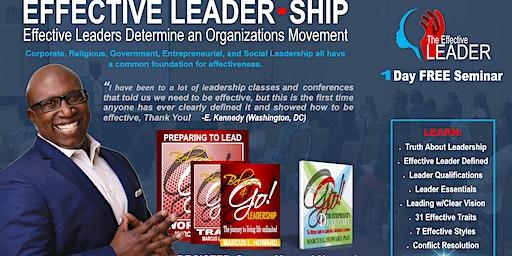 EFFECTIVE LEADER-SHIP (November 9)