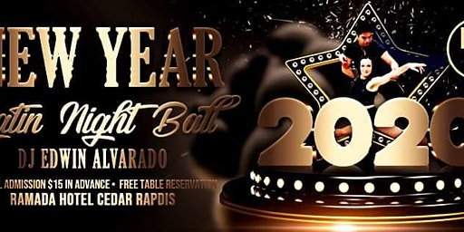 New Year Eve Salsa Party With Latin Flavor At Cedar Rapids