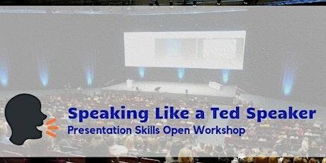 Speaking Like a Ted Speaker in Hong Kong (Feb 2020) tickets