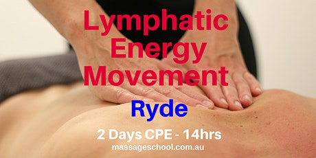 Lymphatic Energy Movement - Ryde - CPE Event (14hrs) tickets