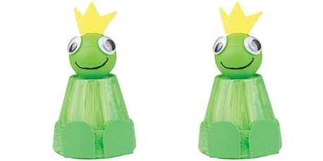 Froggy flowerpots (Kandos Library, ages 9-12) tickets