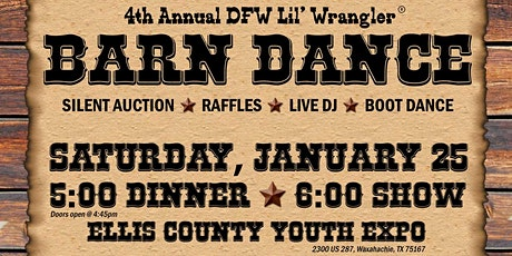2020 DFW Lil' Wrangler Barn Dance tickets