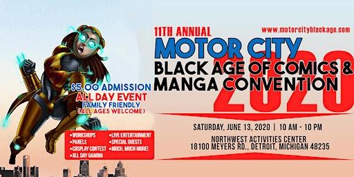 MOTOR CITY BLACK AGE OF COMICS/MANGA CON 2020