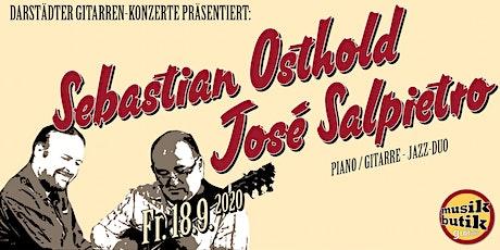 Osthold Salpietro-Duo (Jazz) - Darstädter Gitarren-Konzerte Tickets