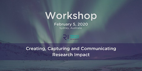 Create, capture and communicate research impact tickets