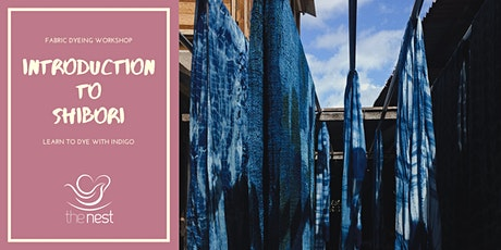 INTRODUCTION TO SHIBORI tickets