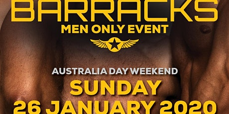 The Barracks Australia Day Weekend tickets