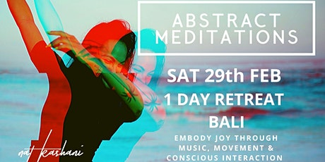 Abstract Meditation // One Day Retreat tickets