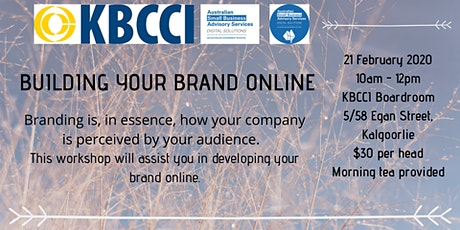 Building your Brand Online tickets