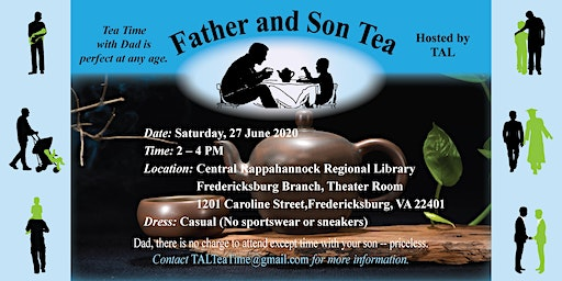 Father and Son Tea 2020