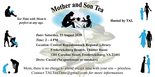 Mother and Son Tea 2020