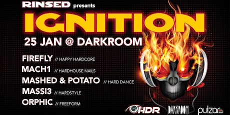 Rinsed presents: IGNITION tickets