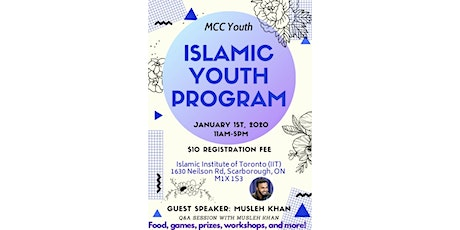 MCC Annual Winter Youth Conference with Shaykh Musleh Khan tickets