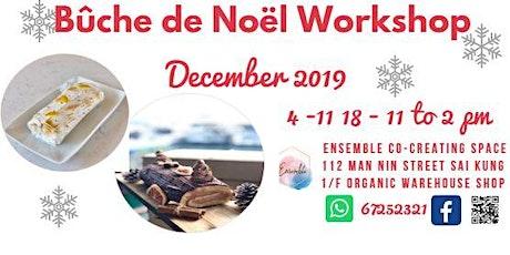 Bûche de Noël - Yule log cake  Workshop tickets