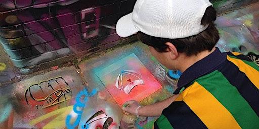 School Holiday Program - Stencil Art Workshop