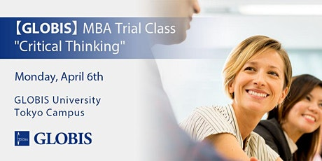"""2020/04/06 """"Critical Thinking"""" MBA Trial Class tickets"""