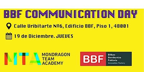 BBF COMMUNICATION DAY entradas