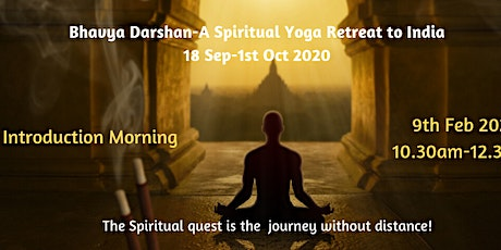 Information Morning-Yoga Retreat to India 2020-with Vani tickets