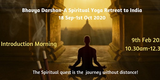 Information Morning-Yoga Retreat to India 2020-with Vani