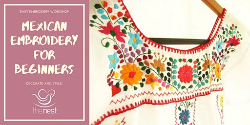 MEXICAN EMBROIDERY FOR BEGINNERS