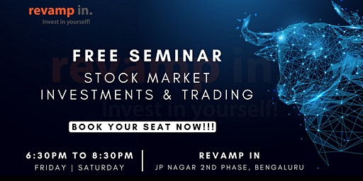 Free Seminar on Stock Market Investments & Trading| Live Review|
