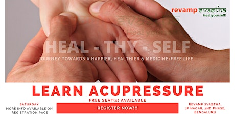 Learn Acupressure tickets