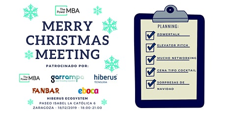ThePowerMBA Christmas Meeting Zaragoza - Hiberus TIC entradas