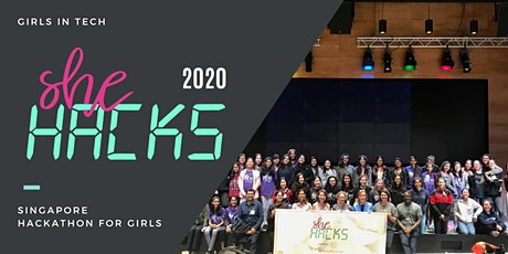 SheHACKS 2020 • Singapore Hackathon for Girls tickets