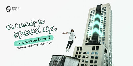 Wondering what Start it @KBC can do for YOU in KORTRIJK tickets